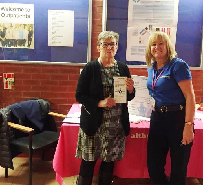 Betty and Anne at S+O outpatients