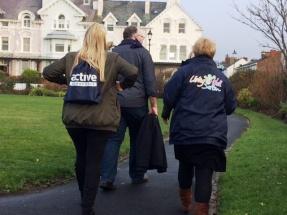 LWS team walk Waterloo