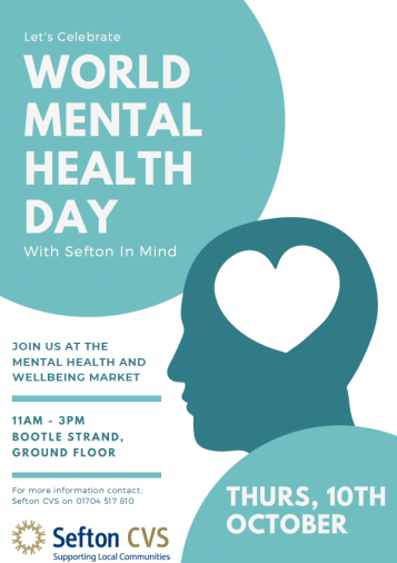 World Mental Health Day flyer front